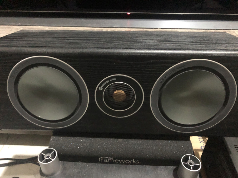 Monitor Audio Bronze Centre Speaker (Used) Img_4112