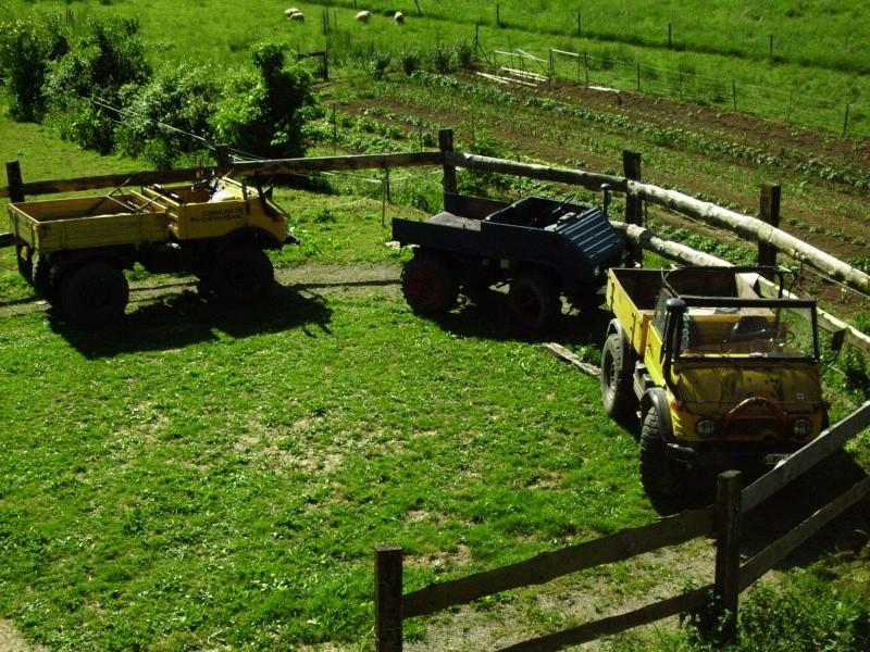 Unimog et MB Trac pour une utilisation agricole dans le monde  Concou10