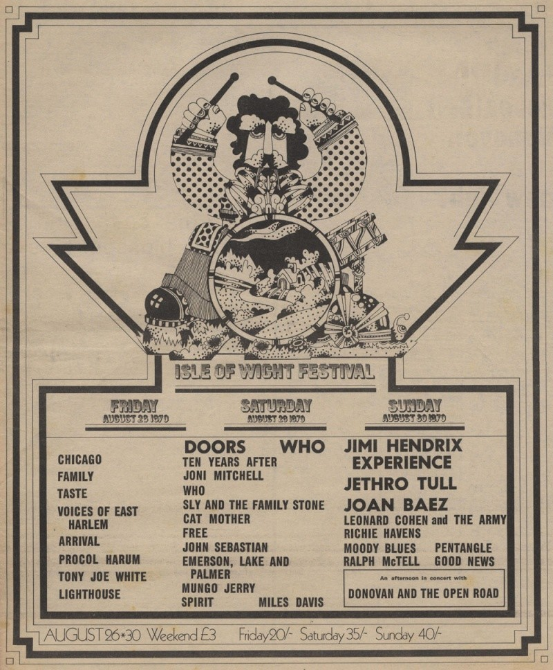 Taste - Live At The Isle Of Wight (1970-paru en 1972) - Page 2 Advert11