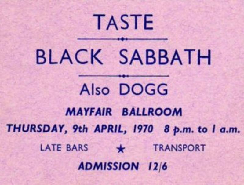 Taste Mk 2 (1968-1970) - Page 4 Advert12
