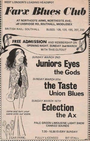 Taste Mk 2 (1968-1970) - Page 5 Advert15