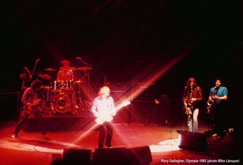 Photos de Mike Lecuyer - Olympia, Paris, 8 mars 1982 Gallag10
