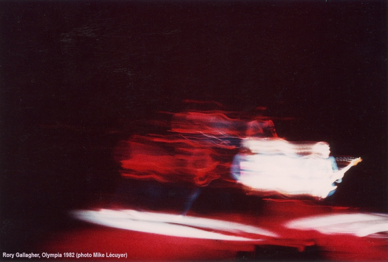 Photos de Mike Lecuyer - Olympia, Paris, 8 mars 1982 Gallag11