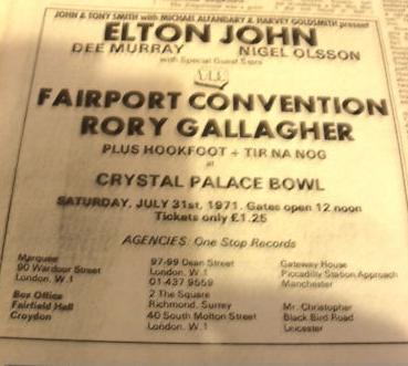 Crystal Palace Concert Bowl, Londres, 31 juillet 1971 Image_25