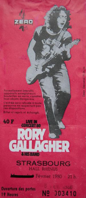 Photos de Marcel Huckel - Strasbourg 8 février 1980 Rory-f10