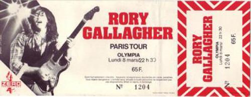 Photos de Mike Lecuyer - Olympia, Paris, 8 mars 1982 Rory_g12