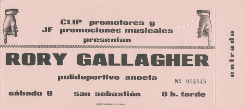 Photo de Gregorio Galvez-San Sebastian, Espagne, 8 mars 1975 Rory_g24