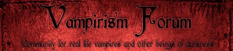 Vampirism Forum