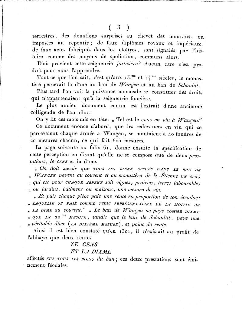 Mémoire d'un procès qui fit couler beaucoup de vin...à Wangen Numari23