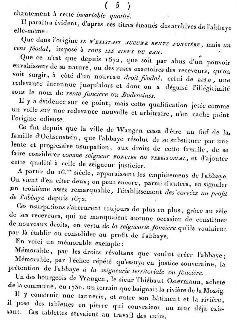 Mémoire d'un procès qui fit couler beaucoup de vin...à Wangen Numari26