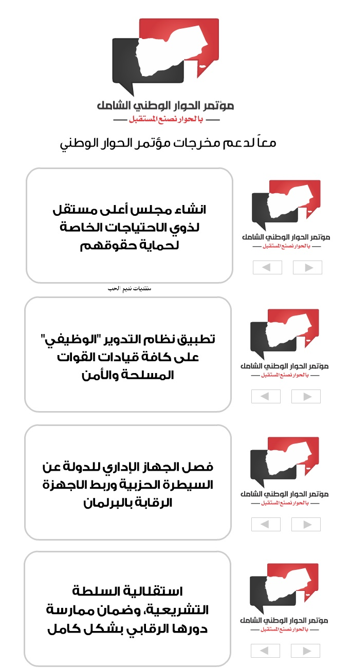 The goals and outcomes of the comprehensive national dialogue Yemen 2013 Full Ouoouo10