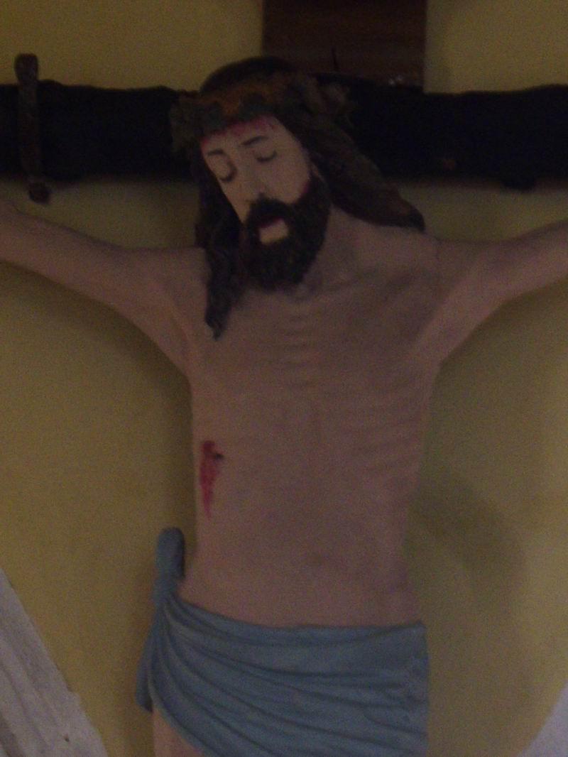 Restauration de la Croix (issue de la Poutre de Gloire) de Brasparts Imgp3351