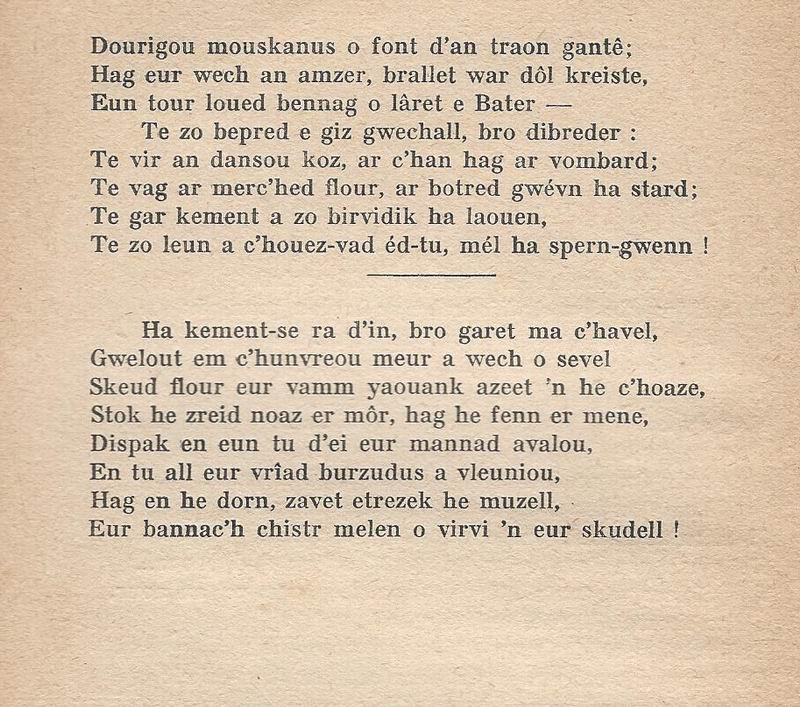 Lennadennoù : Gwimilio/.../ Kerné (Toussaint ar Garrec)/O Breizh ma Bro/ Pleyben, va farrez ! Kerne_11