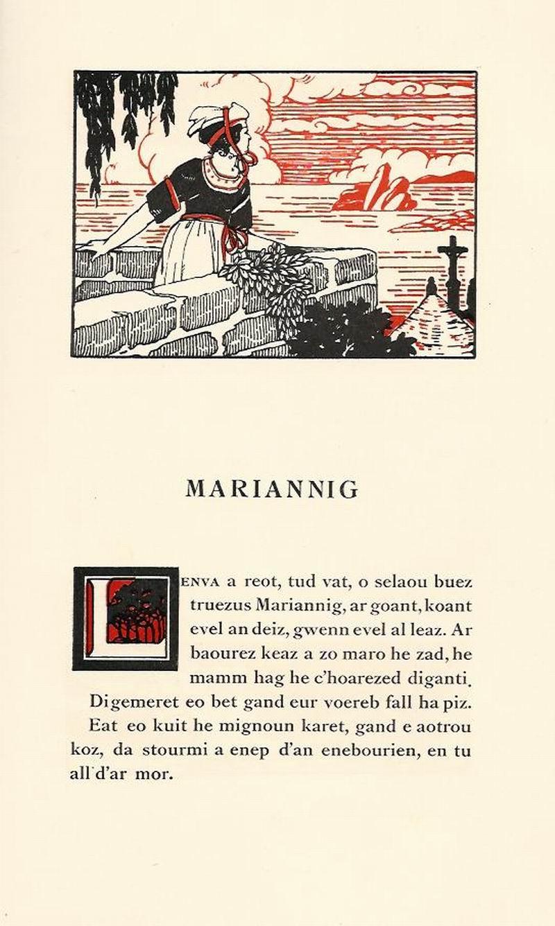 Lennadennoù : Gwimilio/.../ Kerné (Toussaint ar Garrec)/O Breizh ma Bro/ Pleyben, va farrez ! Marian10