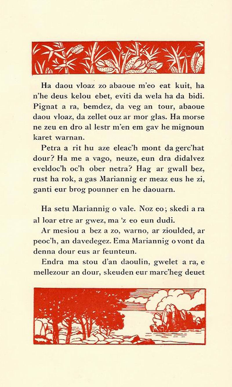 Lennadennoù : Gwimilio/.../ Kerné (Toussaint ar Garrec)/O Breizh ma Bro/ Pleyben, va farrez ! Marian11