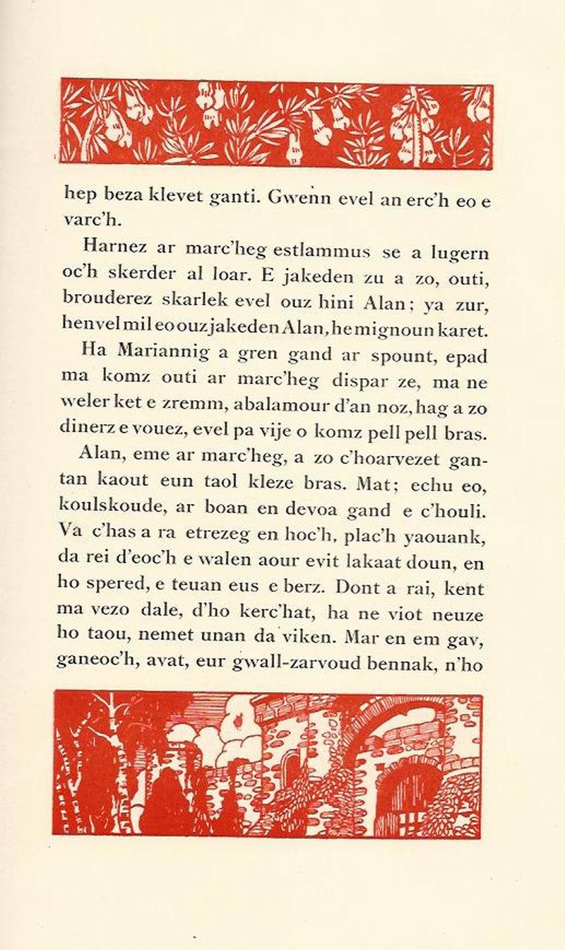 Lennadennoù : Gwimilio/.../ Kerné (Toussaint ar Garrec)/O Breizh ma Bro/ Pleyben, va farrez ! Marian13