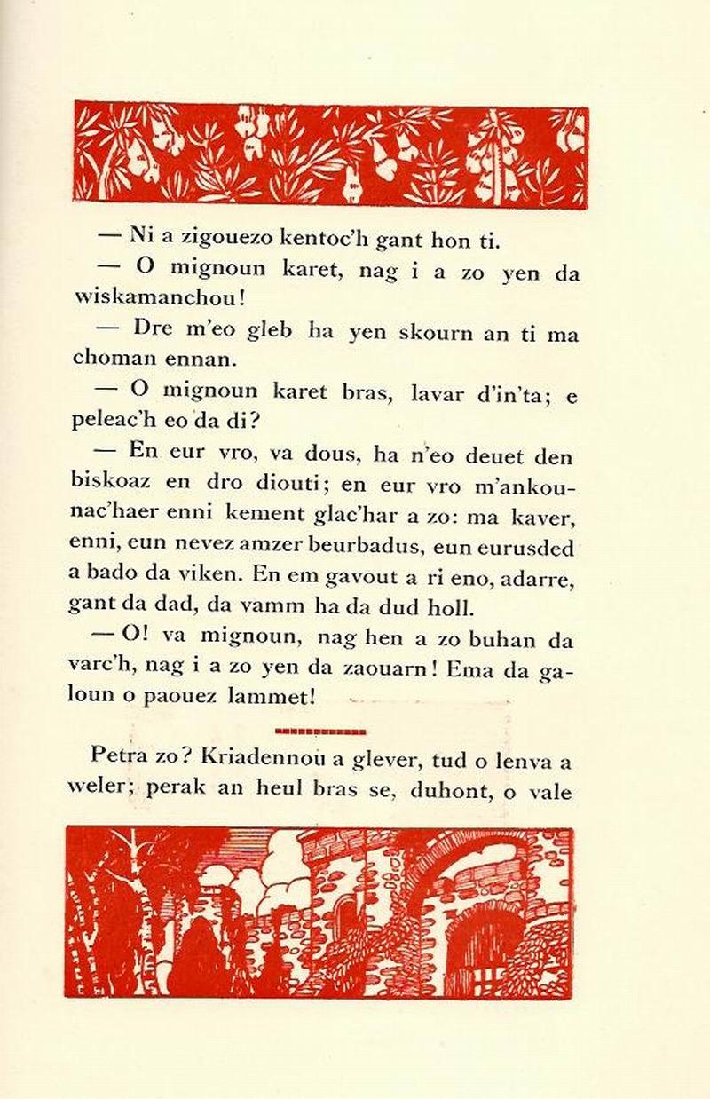 Lennadennoù : Gwimilio/.../ Kerné (Toussaint ar Garrec)/O Breizh ma Bro/ Pleyben, va farrez ! Marian19