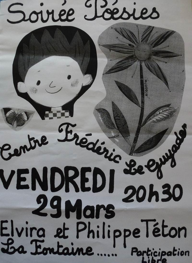 Soirée Poésies à Brasparts le 29 mars : Fables de La Fontaine (Message de Anne Rolland) P1020010