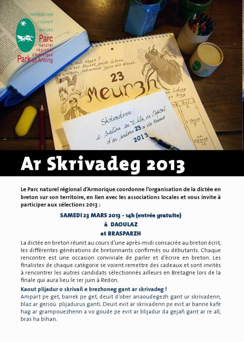 Skrivadeg 2013 - Dictée en Breton 2013 Skriva10