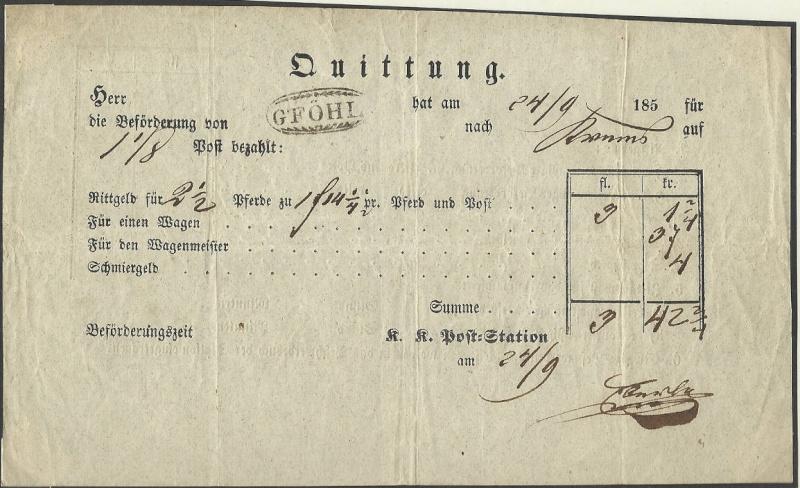 Postgeschichtliche Belege 1850_r10