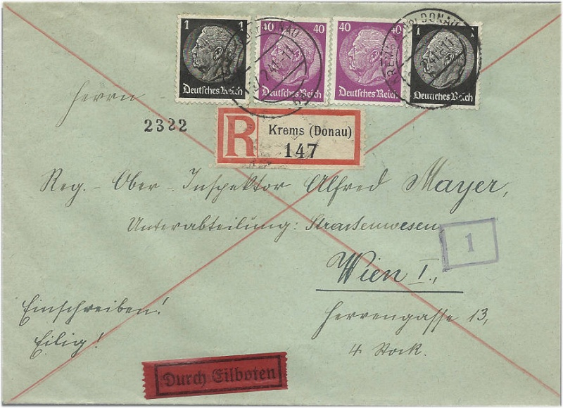Österreich im III. Reich (Ostmark) Belege 1941_010