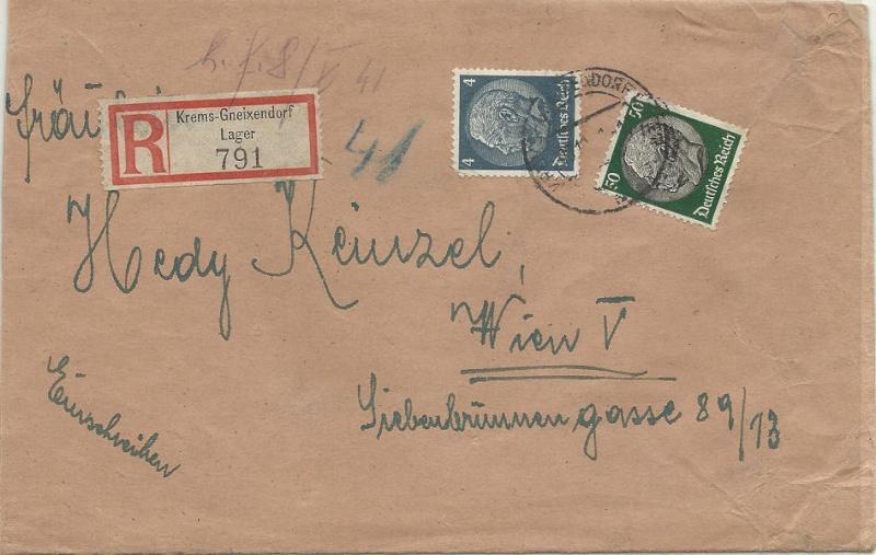 Österreich im III. Reich (Ostmark) Belege 1941_s10