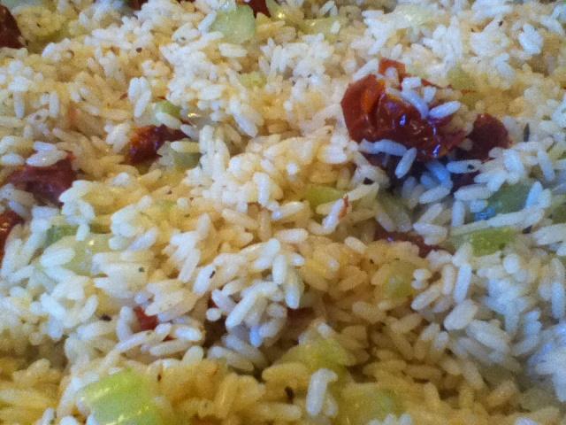 Riz au four avec tomate séchées de GinPat Riz111