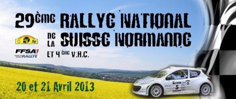 LE RALLYE DE LA SUISSE NORMANDE: UN RDV A NE PAS MANQUER Rallye11