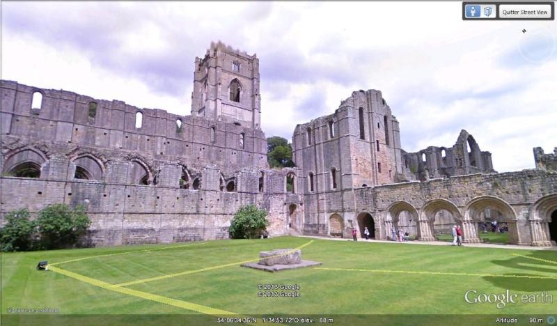[Royaume-Uni] - Les cartes postales en mode Street-view  Abbaye10