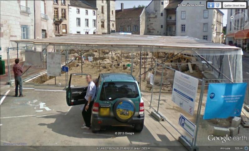 Fouilles archéologiques sur Google Earth  Fouill10
