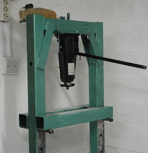 fabriquation presse citron 20 T Press_10