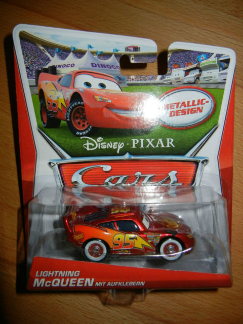 [CARS 1] Exclusivité Allemande Metallic : Lightning McQueen with Stickers Allema10