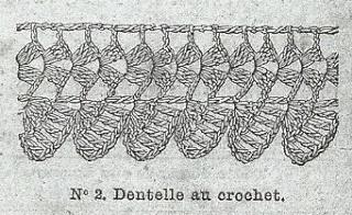 [Modèle] Des modèles de crochets tirés de magasines de mode anciens Dentel13