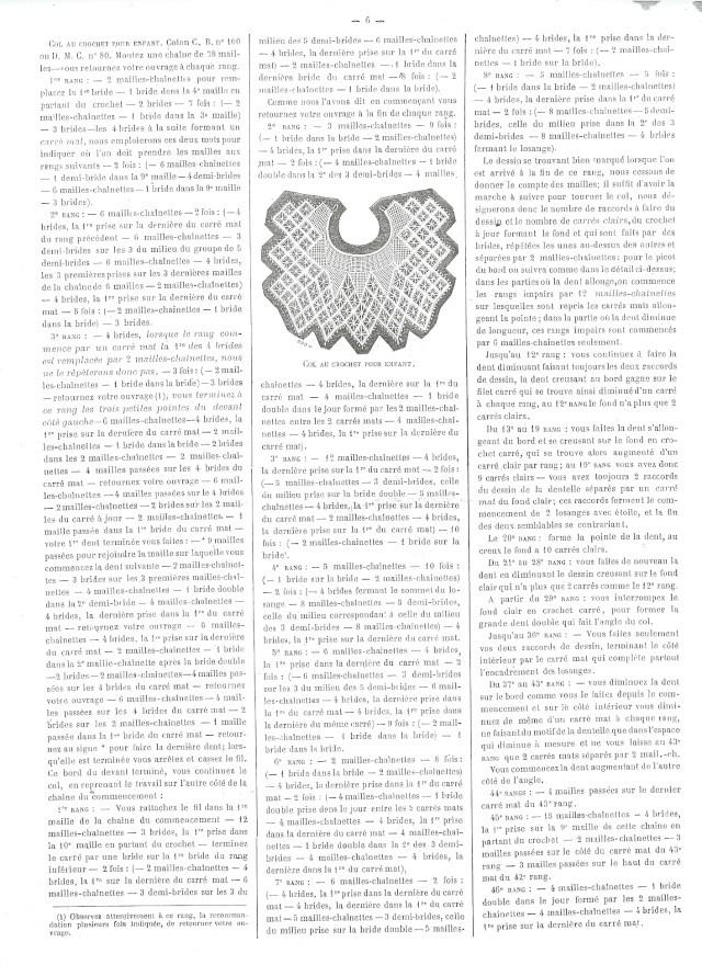 [Modèle] Des modèles de crochets tirés de magasines de mode anciens Journa10