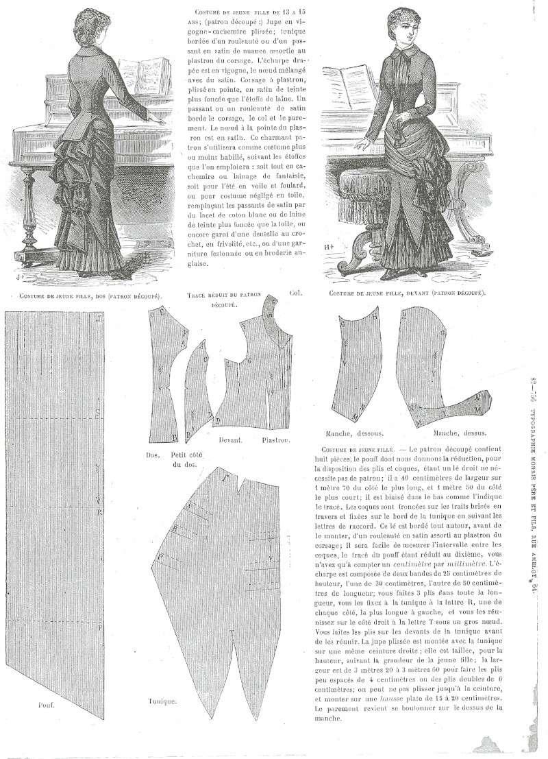 [XIX Tournures Queue d'écrevisse] Diagramme robe 1882 Journa14