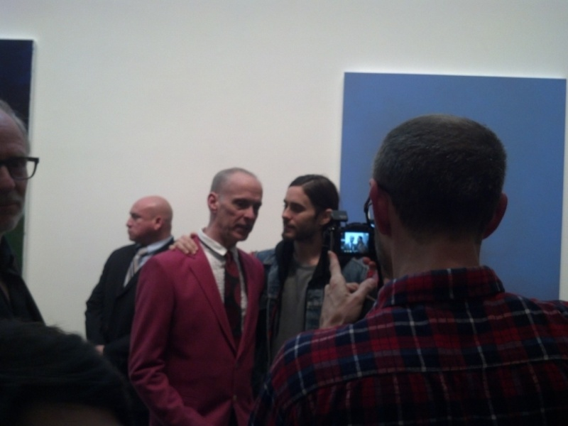 21 février 2013 - Jared à la GAGOSIAN GALLERY - Opening of Richard Prince Tumblr24