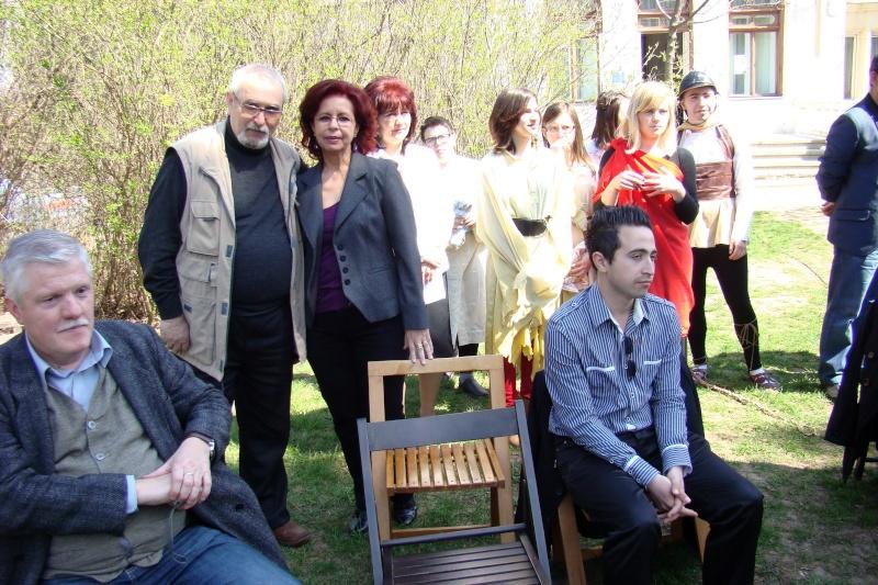 """Lansare """"Zvârcoliri de Cristalin""""- Florin Stratulat şi """"Zbatere de pleoape""""- Dorina Neculce- 20 aprilie 2013  Lansar52"""