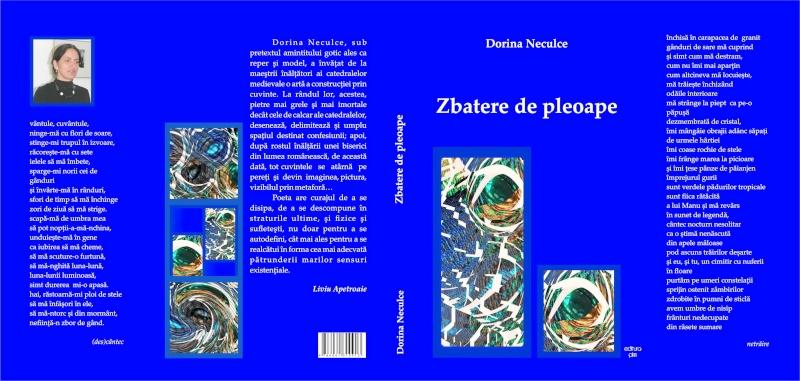 """Lansare """"Zvârcoliri de Cristalin""""- Florin Stratulat şi """"Zbatere de pleoape""""- Dorina Neculce- 20 aprilie 2013  Zbater10"""