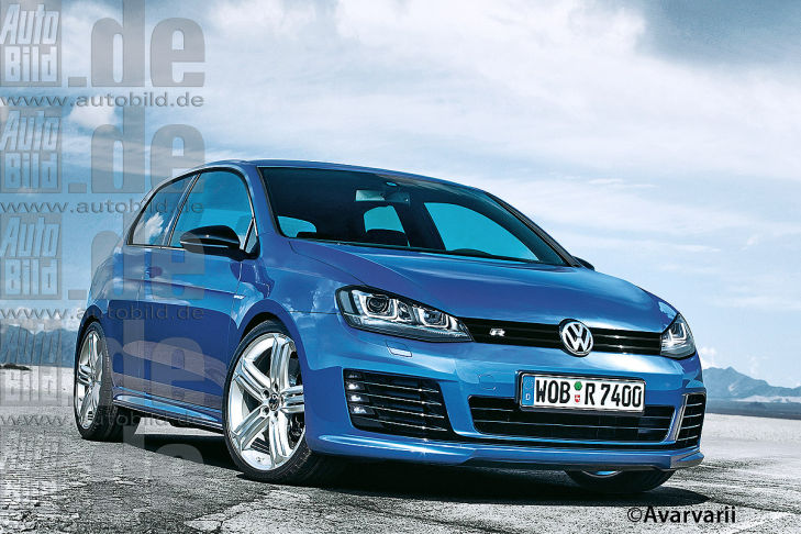 Golf 7 R (concept design !) 1/1 Vw-gol14