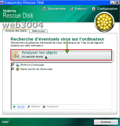 Téléchargez gratuitement Kaspersky Rescue Disk 10 03-02-15