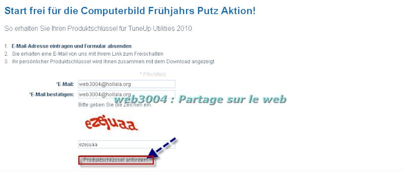 Tuneup 2010 promo gratuite pour tous clef licence du web3004 ! 22-02-10