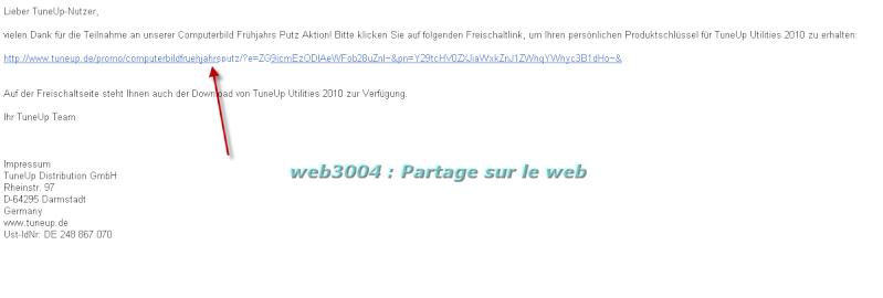 Tuneup 2010 promo gratuite pour tous clef licence du web3004 ! 22-02-11