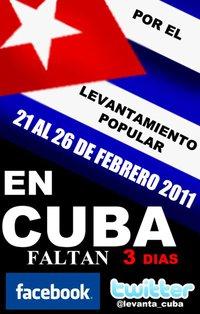 POR EL LEVANTAMIENTO POPULAR EN CUBA *** FEBRERO 21-26 Levan10