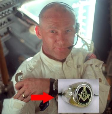 Edwin Eugene (Buzz) Aldrin  *** Tranquility Lodge No. 2000 Nasa2310