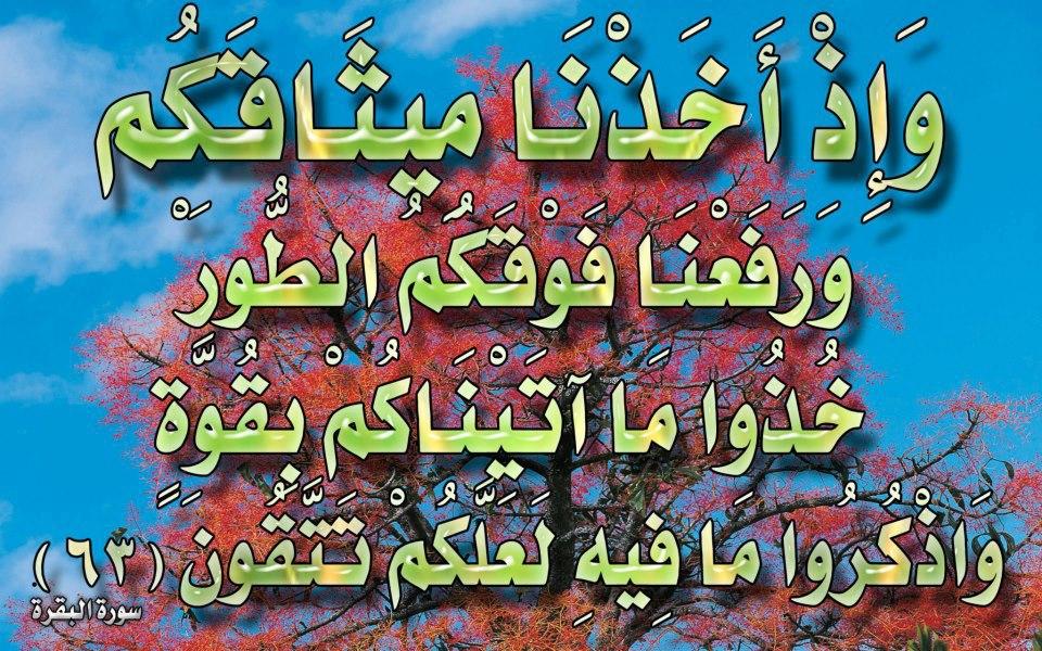 صور لآيات قرآنية كريمة مكتوبة أمام خلفية رائعة / الجزء الخامس 57618010