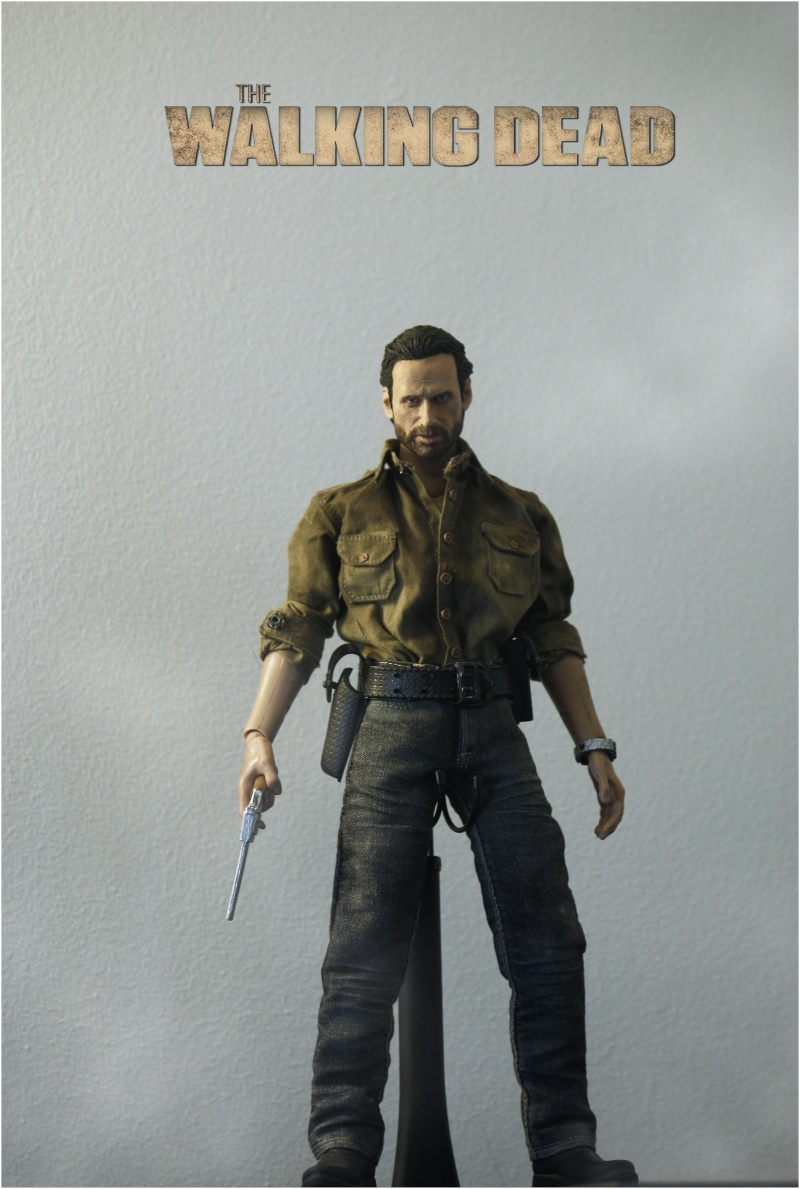 Mes customs : The Walking Dead - Rick Grimes P.1 _mg_7111
