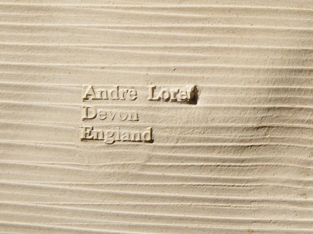 Andre Loret, Sidmouth Pottery, Devon  Dscf6513