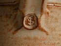 Earthenware Vase J S or T S initials - John Shelly? I.D. help appreciated. Dscf5310