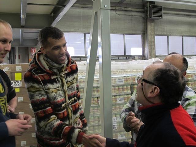 25/03/13 Fabrication des chaussures du clip Papaoutai chez Nekto  10003410