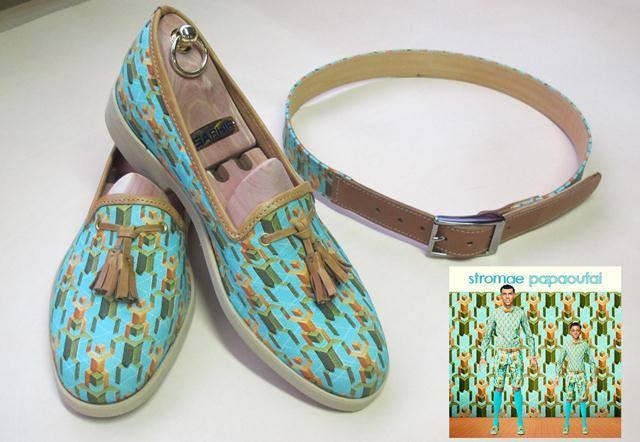25/03/13 Fabrication des chaussures du clip Papaoutai chez Nekto  12403710